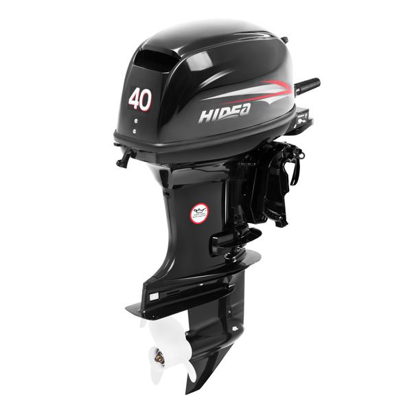 Лодочный мотор Hidea HD 40FHS (ручн.)